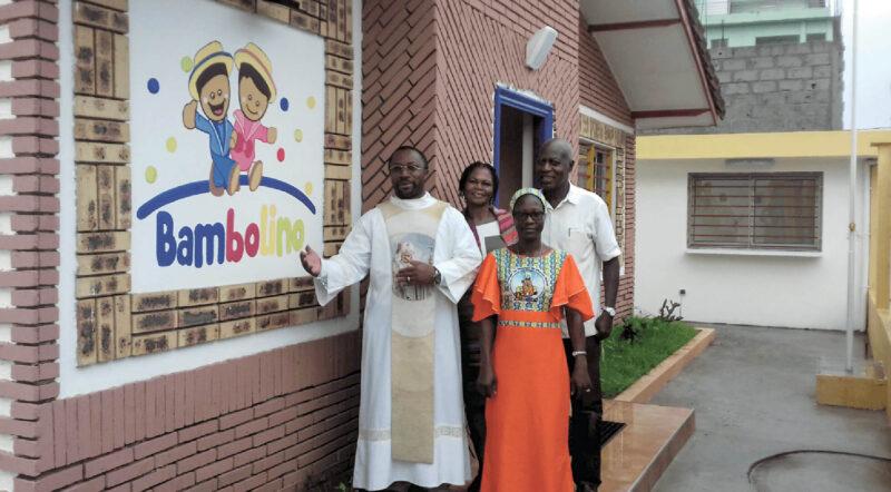 Ouverture d'un jardin d'enfants Bambolino en Côte d'Ivoire
