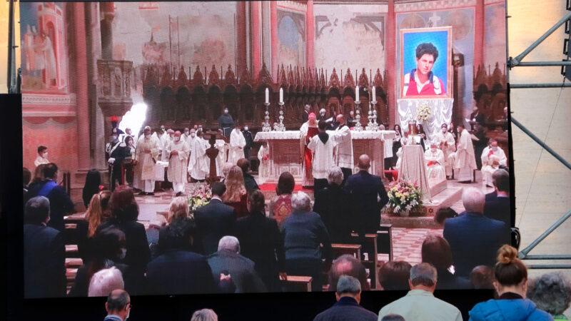Pèlerinage à l'occasion de la béatification de Carlo Acutis à Assise