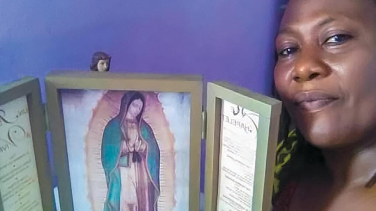 Vierge missionnaire de la famille