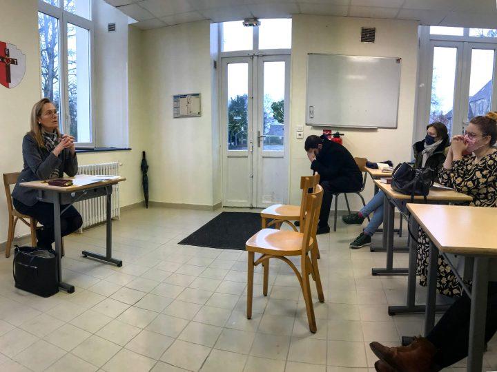 Conférence de Cécile Martin-Houlgatte, consacrée