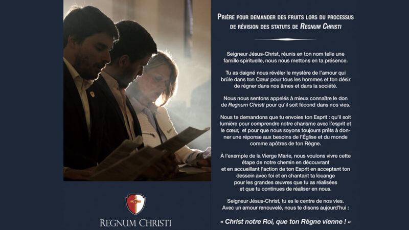 Prière pour le processus de renouveau de Regnum Christi